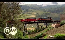 Traveling Ecuador by train | DW Travel Documentary