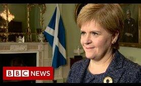 Nicola Sturgeon on Boris Johnson bid to suspend Parliament - BBC News