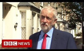Jeremy Corbyn: What is Boris Johnson so afraid of? - BBC News