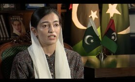 Exclusive first ever interview of Aseefa Bhutto Zardari