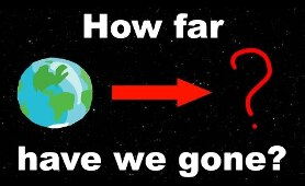 How Far has Humanity Reached into the Universe?