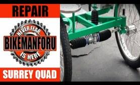 Surrey Built For Four -  Pretty Cool Stuff - BikemanforU Quad Bike Check