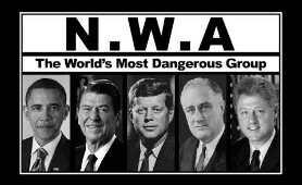 "Six U.S. Presidents read ""Fuck Tha Police"" by N.W.A. (Speech Synthesis)"