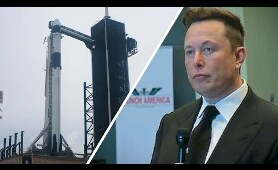 Elon Musk's emotional pre-launch speech hour before SpaceX Crew Dragon Demo-2 mission