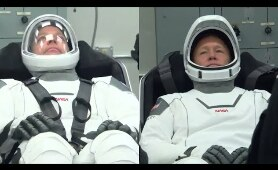 SpaceX Demo-2 Astronauts Suit Check