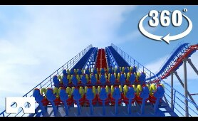 VR 360 insane roller coaster ride full movie video for Virtual reality and augmented reality