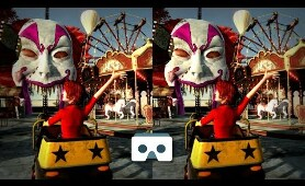 New Scary Roller Coaster 3D Video: Virtual Reality Creepy Videos for Smartphone & VR Box or Gear VR