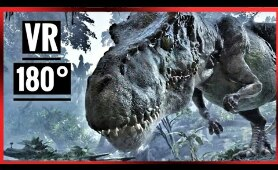 VR Jurassic Dinosaur 4K Experience (Virtual Reality Video)