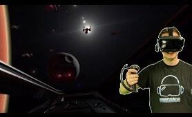 Ich fliege einen X-Wing in Virtual Reality!! Abgefahren! PROJECT STARDUST [VR Gameplay]