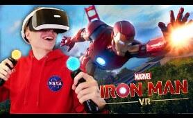 IRON MAN SIMULATOR IN VIRTUAL REALITY! | Marvel's Iron Man VR Demo (PSVR Gameplay)