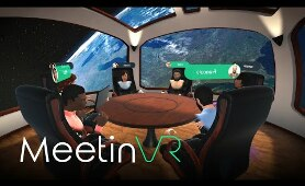 MeetinVR - Enterprise Collaboration in Virtual Reality