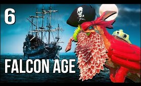 Falcon Age VR | Part 6 | Redfeather The Pirate Fights ORC!
