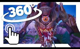 MONSTER vs MECH in VR! | Fortnite 360° Experience
