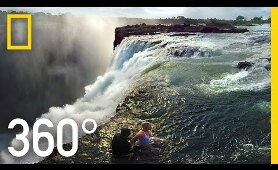 360° Victoria Falls – The Devil's Pool | National Geographic