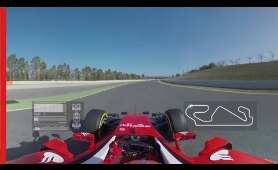 360° video with Scuderia Ferrari - Lap