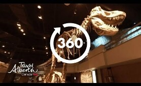 Royal Tyrrell Museum | 360 Video | Google Jump 8K | Alberta, Canada