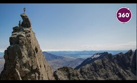 Climb the Cuillin Ridge l 360 video