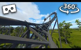 VR 360° Top 3 Roller Coaster Rides from Thorpe Park Virtual Reality