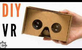 How to make vr cardboard Easy | vr headset at home