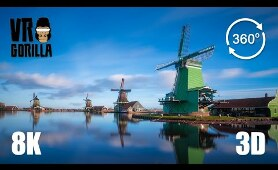This is Holland VR: The Zaanse Schans - 8K 3D 360 Video