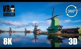 This is Holland VR: The Zaanse Schans - 8K 3D 360 Video