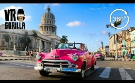 Travel Cuba in 360 degrees VR - Episode 2: Havana - 360 VR Video