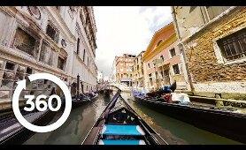 Take a 360° VR Gondola Ride In Venice!