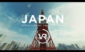 [360°VR] JAPAN - Where tradition meets the future | JNTO