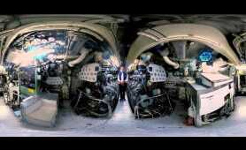 360 Degree Virtual Reality tour of submarine HMAS Onslow - Action Stations!