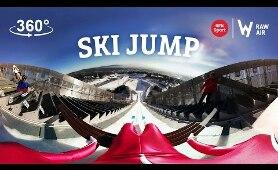 Ski jumping 360° #VR #360video