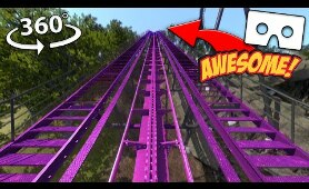 VR 360 | The Best Roller Coaster Rides in 4K Virtual Reality
