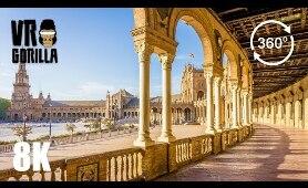 Cadiz & Sevilla Spain Guided Tour - 8K 360 VR Video